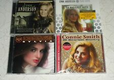 Lot of 4 CD'S COUNTRY LEGENDS SYLVIA CONNIE SMITH LYNN ANDERSON BIGGEST GREATEST