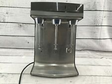 Hamilton Beach Commercial 941 Triple Spindle Drink Mixer Blender 3 Speed Nsf Usa
