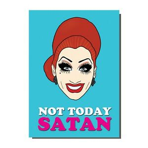 Image Is Loading Bianca Del Rio Drag Race Queen Greetings Birthday