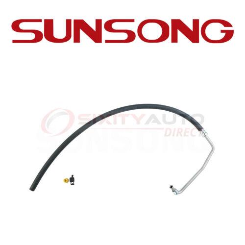 Sunsong Power Steering Return Line Hose Assembly for 1970-1972 Chevrolet P30 qc