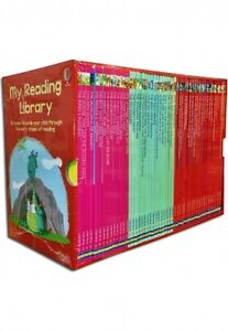 Usborne-My-Second-Reading-Library-50-Books-Collection-Set-Pack-Early-Level-3-amp-4