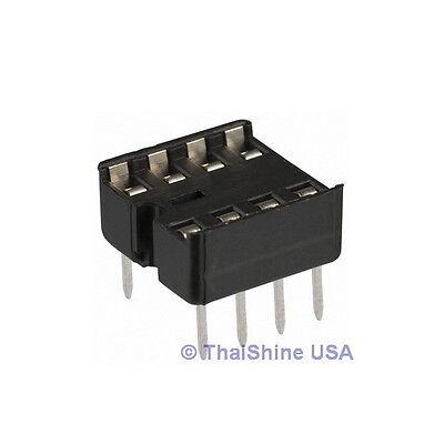 40 x 8 pin DIP IC Sockets Adaptor Solder Type Socket - USA SELLER Free Shipping