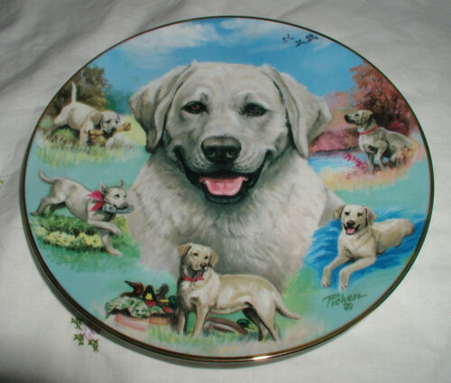 """BEST BUDDY"" PLATE FOR THE LOVE OF LABS COA"