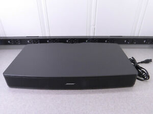 BOSE-Solo-TV-Sound-System-MODEL-410376-NO-REMOTE-Black-AS-IS-no-power