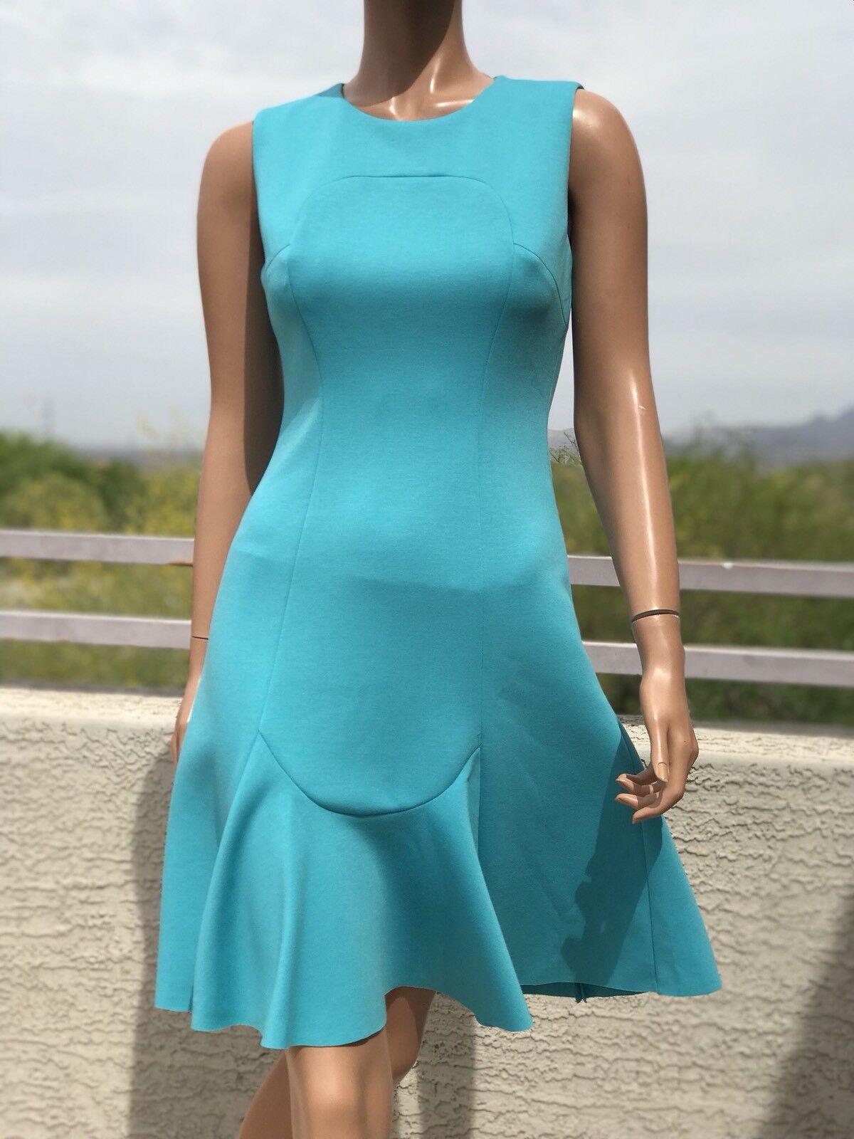 Elie Tahari Lizzie Fit and Flare Dress US2&4