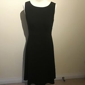Austin Reed Black Dress Smart Casual Business Office Uk 10 Ebay