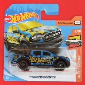 Hot-Wheels-2019-039-19-Ford-Ranger-Raptor-azul-185-250-neu-amp-ovp
