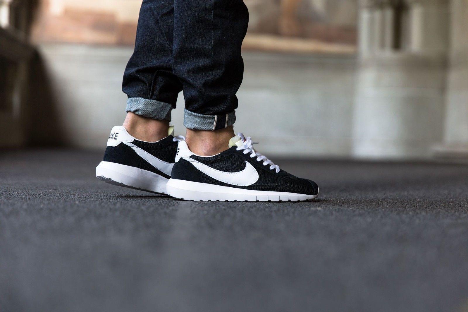 Nike Roshe LD-1000 QS Men's Athletic shoes Black White-White 802022-001 NEW
