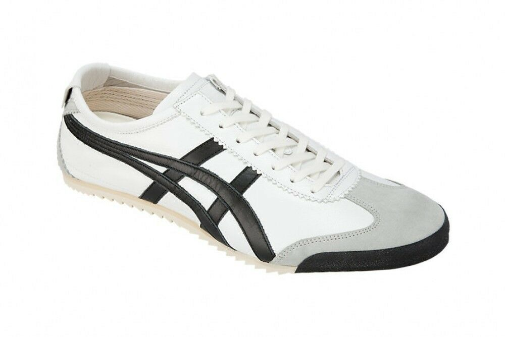 Asics Japan Onitsuka Tiger MEXICO 66 66 66 DELUXE 1181A012 bianca X nero Free shipping d20f16