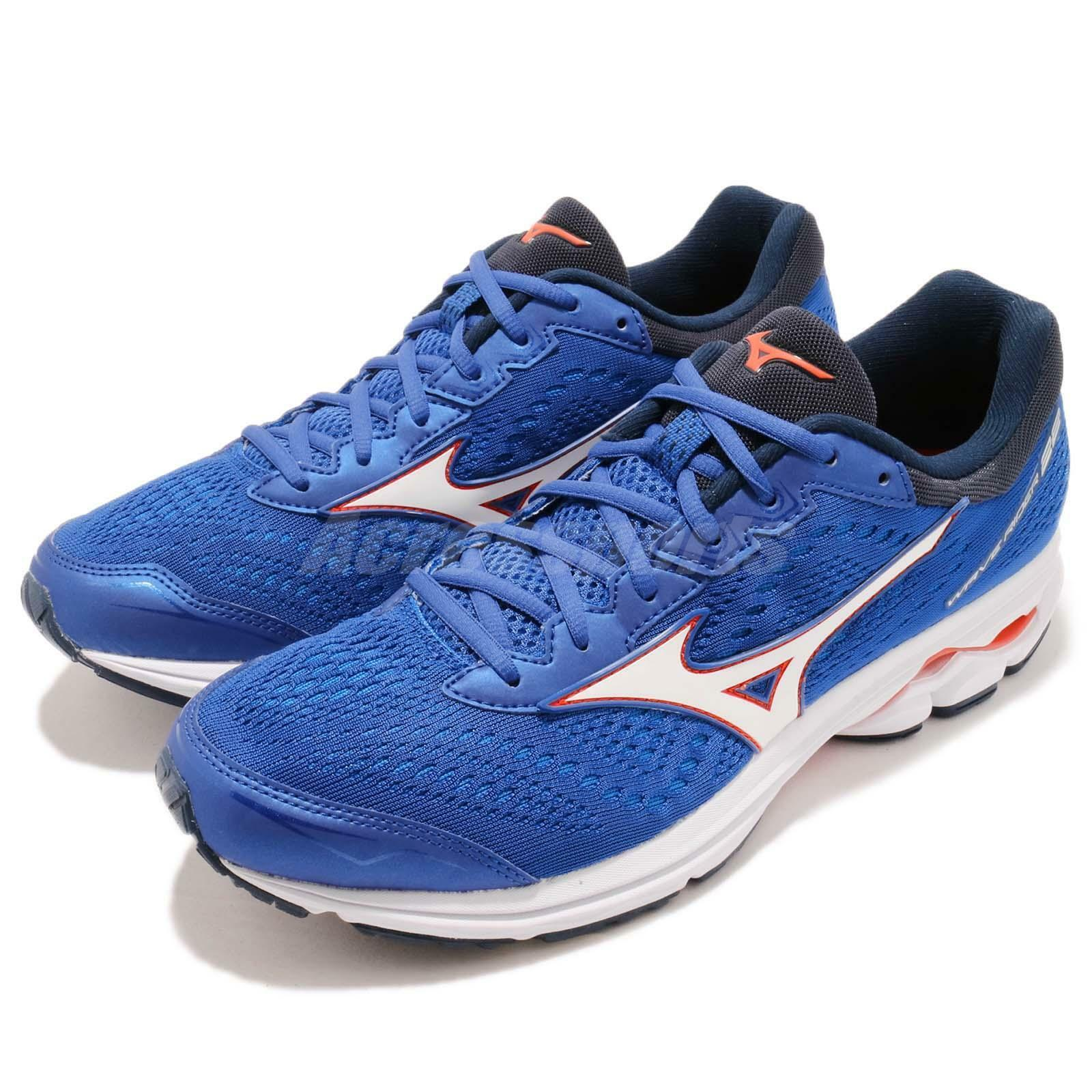 Mizuno Wave Rider 22 azul blanco rojo Men Men Men Running zapatos zapatillas J1GC1831-07 4dc2ed