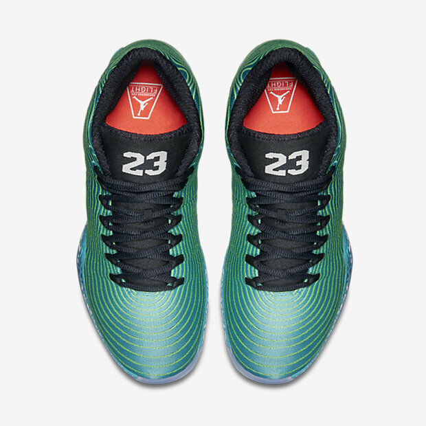 0874af65b6b0 Nike Air Jordan 29 Xx9 Easter Green Black Size 13. 695515-403 for sale  online