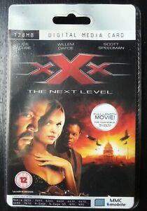 XXX  Rare Collectors Sealed MMC 128MB Digital Media Card  Movie Film