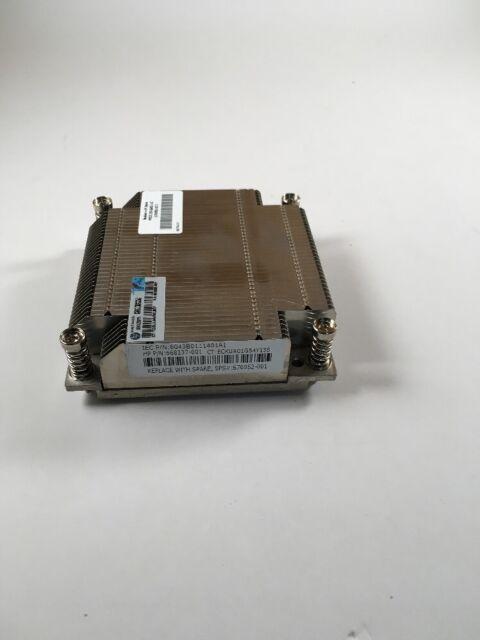 HP 676952-001 DL360E gen 8 screw down heatsink