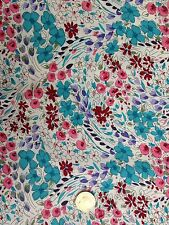 John Lewis cotton 100%, 'April Buds', (per metre) dress fabric, sewing,