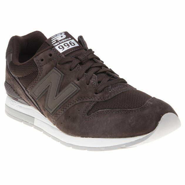 New Hommes New Balance Brown 996 Suede Trainers Retro Lace Up Up Lace 8fd27c