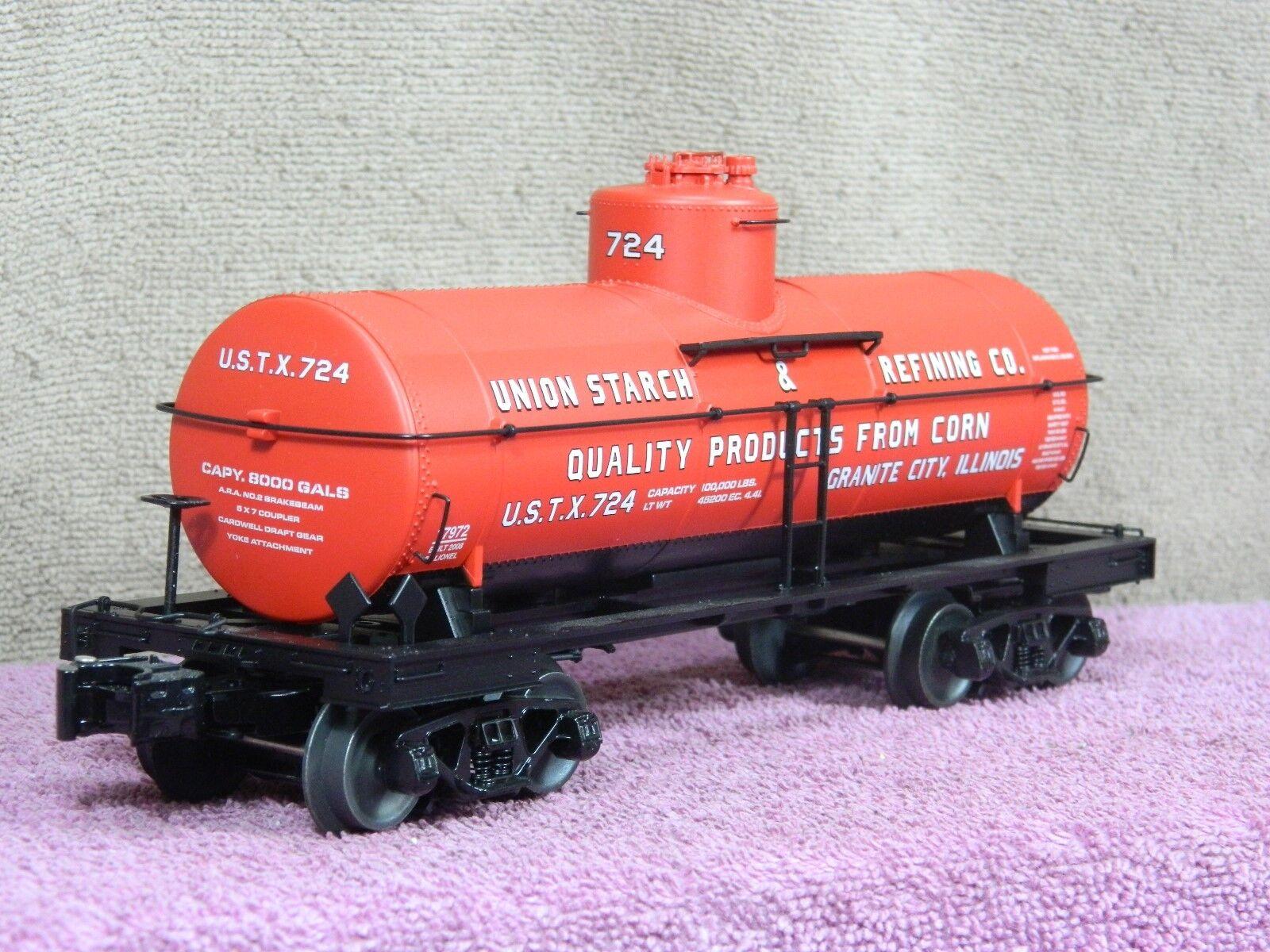 mejor marca Lionel Escala Escala Escala  6-17972 Unión almidón 8000 galones tanque coche con Die Cast camiones Nuevo En Caja  venta caliente