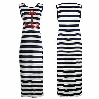 Mother&Daughter Striped Sleeveless Dress Casual family cloth Women Girls Dress