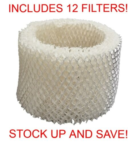 Fits Honeywell HAC-504AW HAC-504W Type A Kaz Vicks WF2 Humidifier Filter 12 Pack