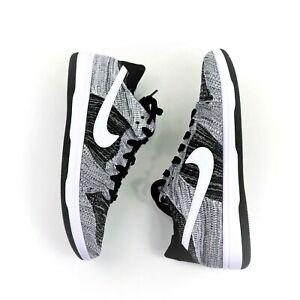 83bacfd96ec883 Nike Size 11 Dunk Low Flyknit Oreo Basketball Shoe sneaker 917746 ...