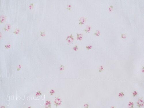 Rachel Ashwell Simply Shabby Chic Pink Rosebud SPRINKLES White Sheet Set TWIN XL