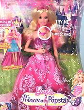 Barbie TORI in the Princess Popstar, Twist & Change Hair, She Sings 2 Songs! MIB
