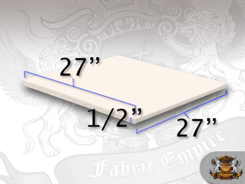 "1//2/"" X 27/"" x 27/"" Square Foam Sheet"