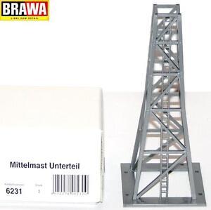 Brawa-H0-6231-Seilbahn-Mittelmast-Unterteil-NEU-OVP