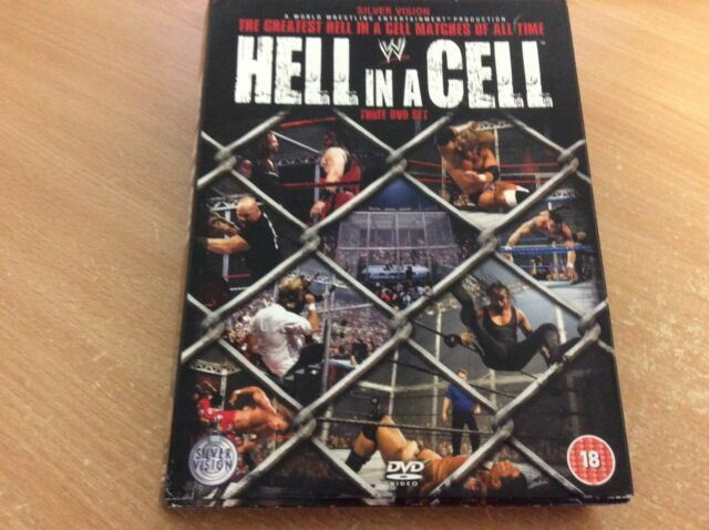 WWE Hell In A Cell The Greatest Matches Of All Time (3-Disc DVD 2008 Set) D9