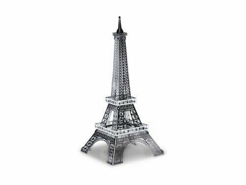 Torre Eiffel: Metal Earth 3d Miniatura Corte Láser kit de modelismo