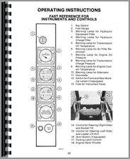 Operators Manual Case 1845b Uniloader