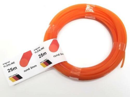 fabricante 25m 2mm schneidfaden nylon hilo para fdenkopf adecuado para Stihl ua