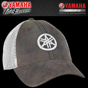 Details about NEW GENUINE YAMAHA TUNING FORK MESH HAT ONE SIZE FITS ALL  CRP-16HYA-BK-NS