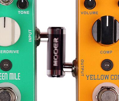 mooer 1 4 guitar effect pedal connector pc z jack plug z shape connectors ebay. Black Bedroom Furniture Sets. Home Design Ideas