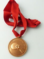 Medaille : DDR - Meisterschaften im Faustball Verband der DDR Stufe Bronze/ r337