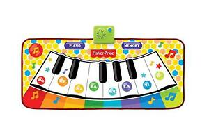 Fisher-Price-Interactive-Piano-Memory-Music-Mat-Toddler-Game-EUC-Pre-owned