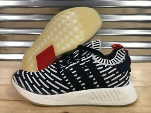 quality design 38350 f6258 Image is loading Adidas-NMD-R2-Primeknit-Roni-Running-Shoes-Collegiate-