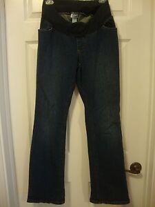 Women-039-s-MOTHERHOOD-MATERNITY-stretch-jeans-M