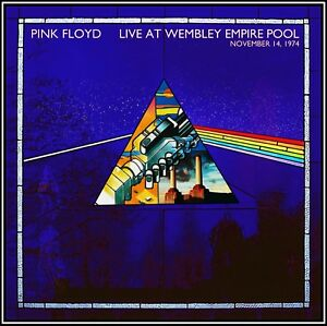 Pink Floyd Live At Wembley Empire Pool 2 Cd Dark Side Of The Moon