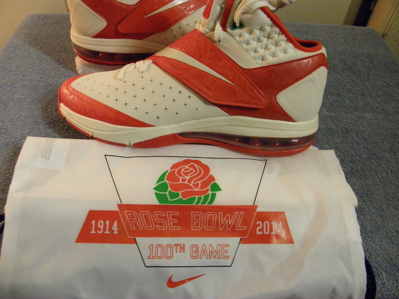 Nike air max cj81 cj 81 trainer calvin johnson s centesima 10,5 s rose bowl centesima s limited c405c7