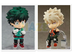 Nendoroid-My-Hero-Academia-Izuku-Midoriya-Deku-Katsuki-Bakugou-Figure-Toy-New