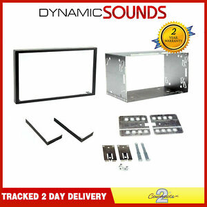 Universal-100mm-Double-Din-2-Din-Car-Stereo-Facia-Fascia-Cage-Fitting-Kit