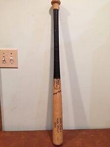 "Vintage Adirondack Wooden Little League Baseball Bat New York ""Willie Mays"""