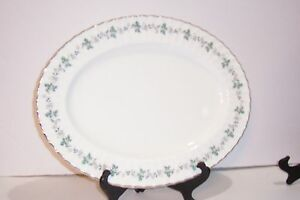 """ROYAL WORCESTER CHAPEL HILL PLATTER 15.5"""" MADE IN ENGLAND 1965"""
