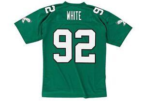 36c8c319a Image is loading Philadelphia-Eagles-Reggie-White-Green-Mitchell-Ness -Throwback-