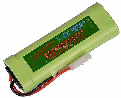 1 pcs 7.2V 3800mAh Ni-MH Rechargeable Battery Pack new