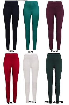 Ex M/&S Jeggings Mid Rise Ladies Women Stretchy Navy Black Cropped Pants Leggings