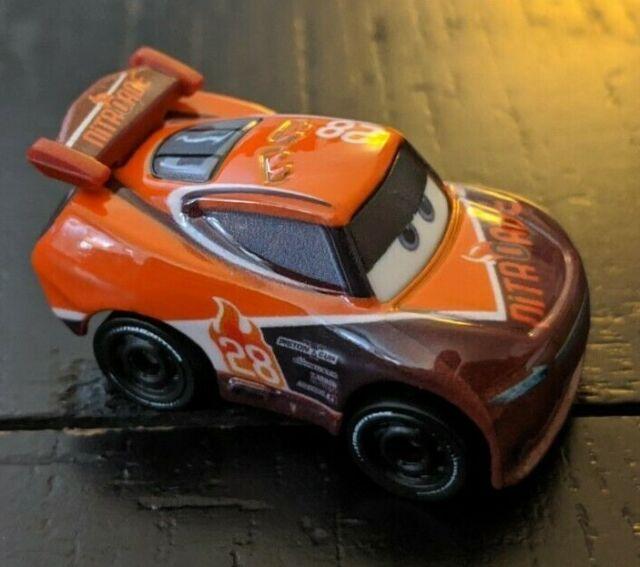 Disney Pixar Cars Mini Diecast Racers Tim Treadless Metallic #16
