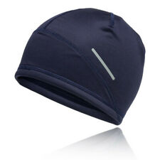 Asics Unisex Lite-Show 2 Beanie Navy Blue Sports Running Windproof Breathable