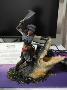 """Ubisoft """"Assassin's Creed Liberation"""" Aveline Collectible Figure Statue In Stock"""