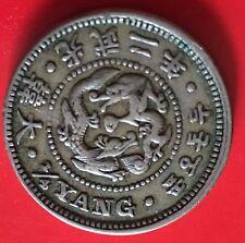 Korea 1/4 Yang 2nd year of Kuang Mu CuNi 1898